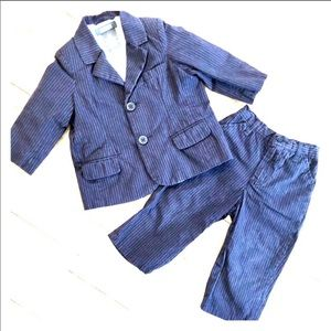 Kenneth Cole Reaction Baby Pinstriped Suit